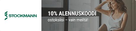 Stockmann 10% alennuskoodi